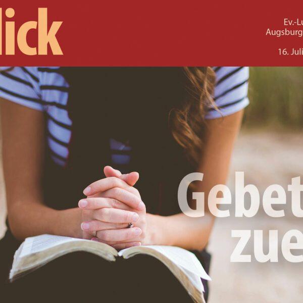 EinBick 219-Gebet zuerst