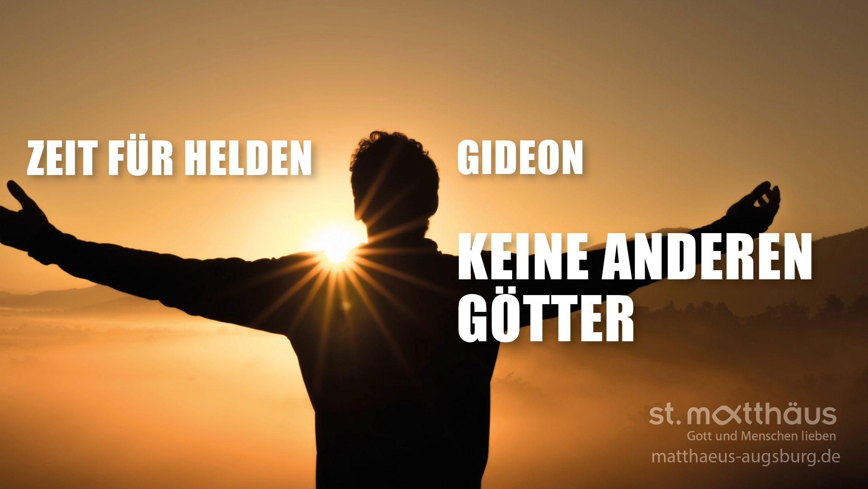 Keine anderen Götter - Gideon