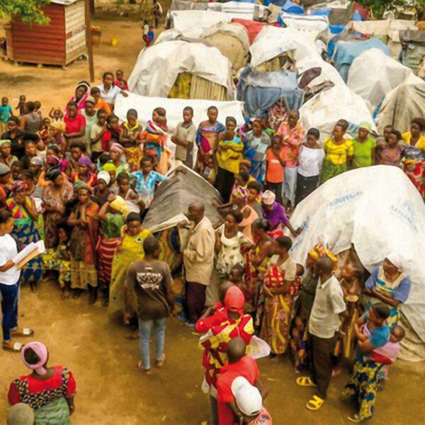 Ein Container voller Hoffnung für den Kongo