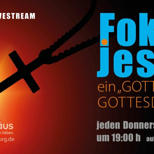Gebetsabend: FokusJesus – Gott & Du