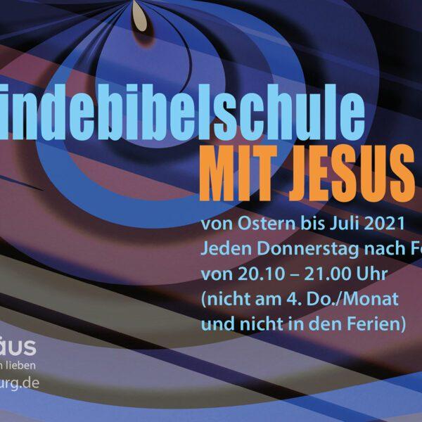 """Ankündigung: Gemeindebibelschule """"Mit Jesus leben"""" & DER VIERTE-Mitarbeitergottesdienst"""